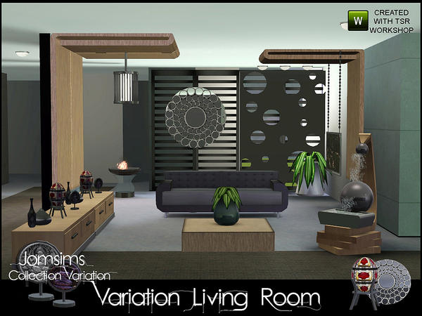 Living Room Variation (collection Variation suite) by jomsims