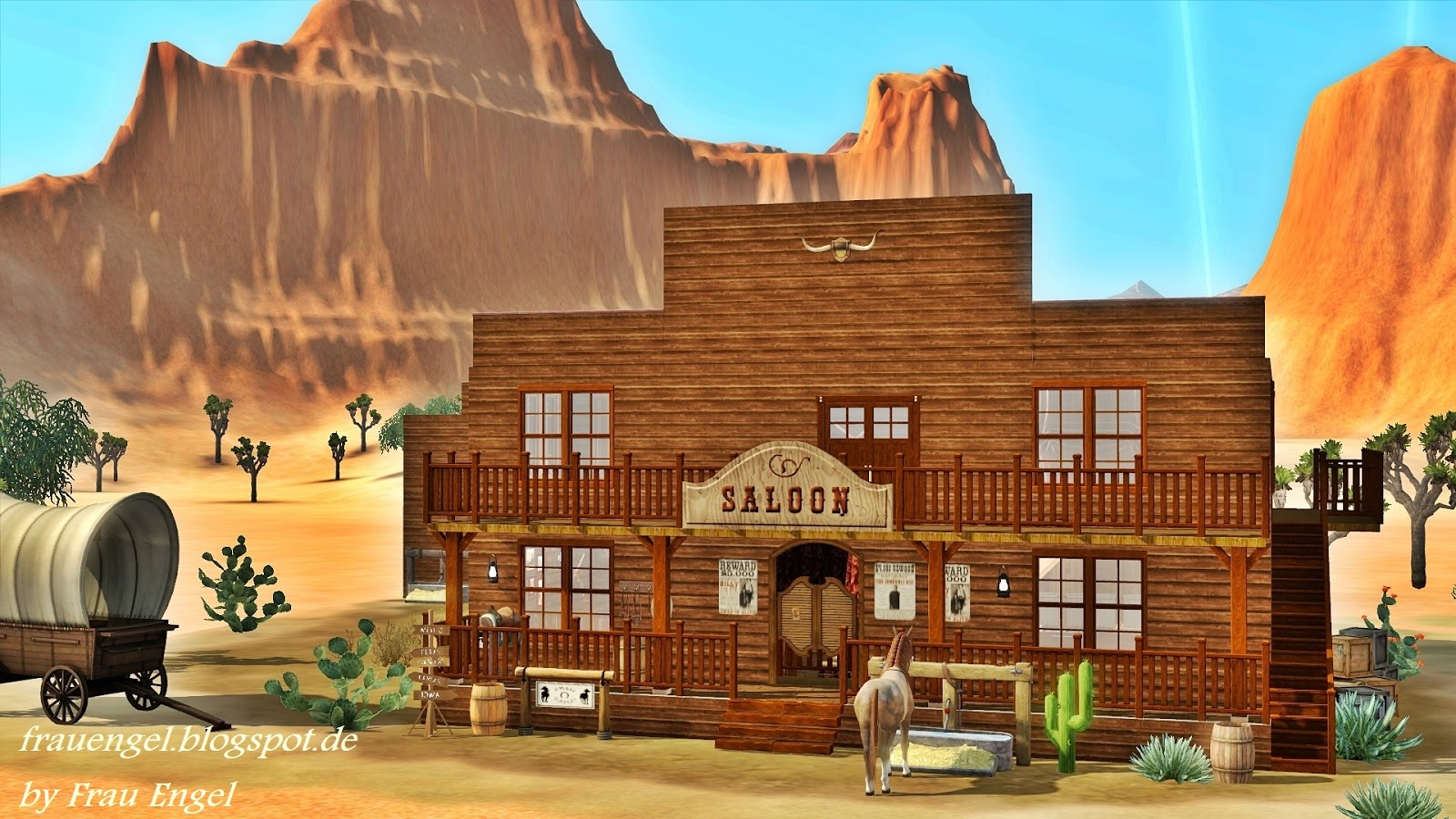 Saloon in the Wild West by Frau Engel