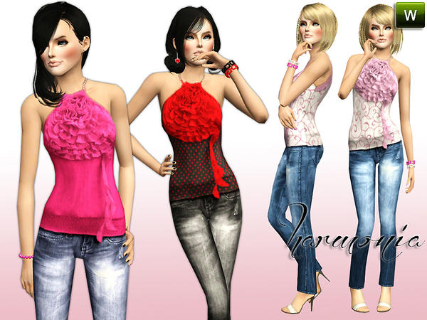 Summerly Stylish Outfits by Harmonia09