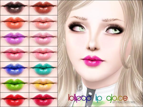 Lollipop Lip Glace by Pralinesims
