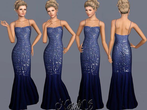 Delicate Sequined Gown FA-YA by NataliS