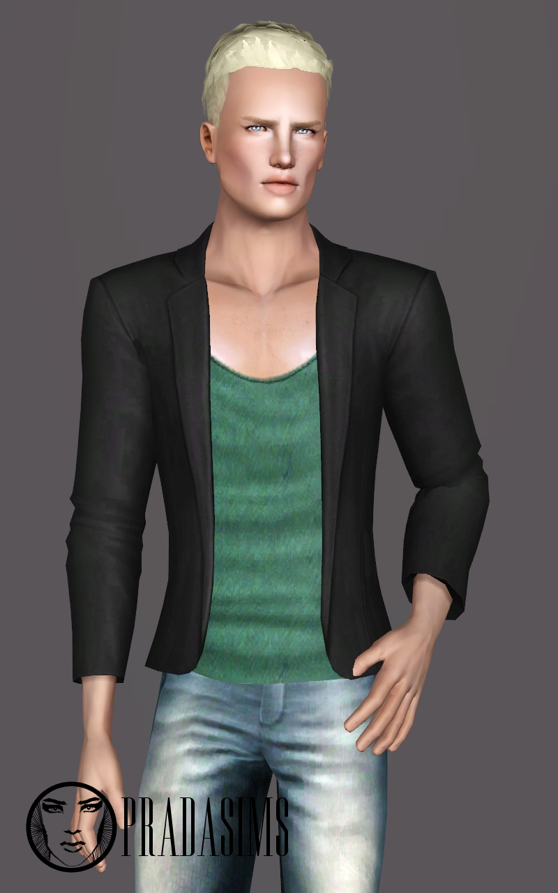 Casual suit for males by Justin 58