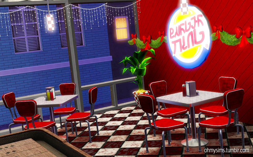 Burger Sims by ohmysims