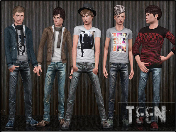 TeenMaleFashionSet3 by ShojoAngel