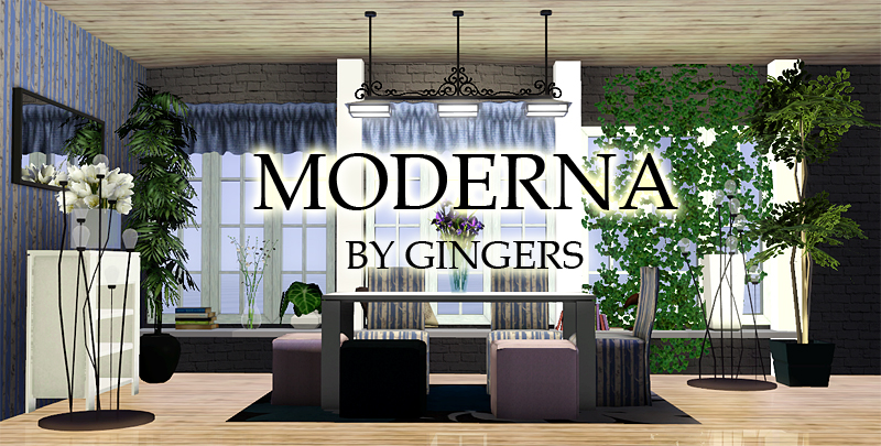 Moderna Dining Set by Gingers