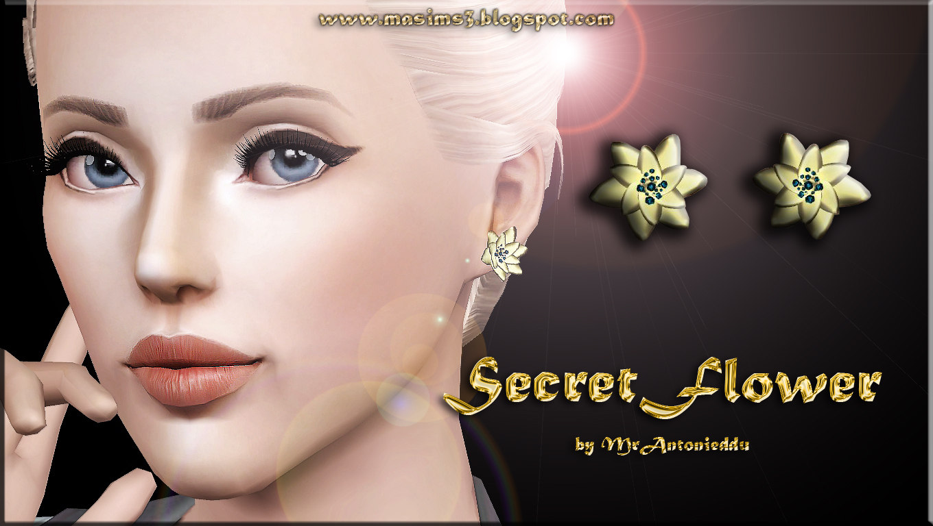 Secret Flower Earrings by MrAntonieddu