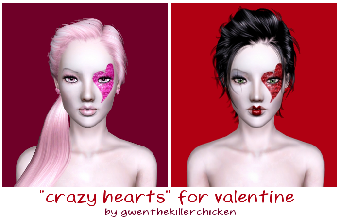 Crazy hearts for valentine by Gwen