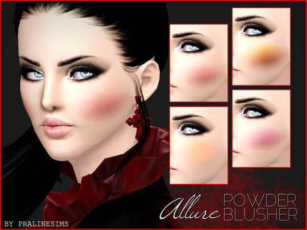 Allure Powder Blusher by Pralinesims