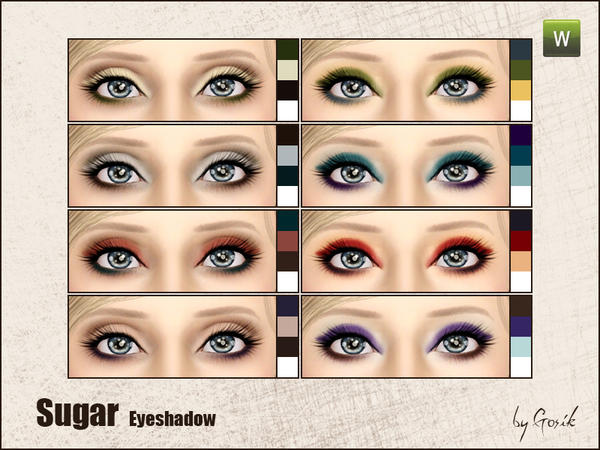 Sugar eyeshadow by Gosik