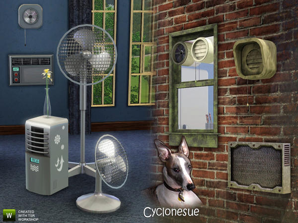 Climate Set 1 - Cooling by Cyclonesue