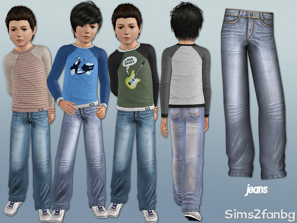 302 - Child casual set by sims2fanbg