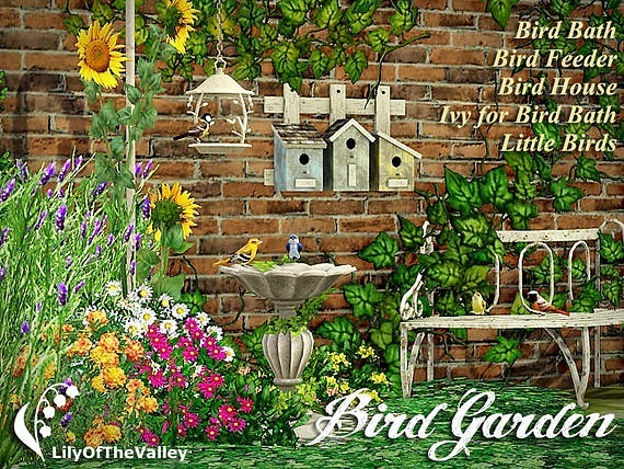 Bird Garden by LilyOfTheValley