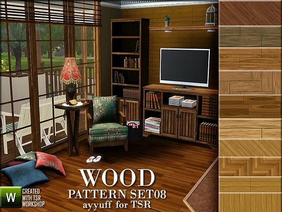 Wood Pattern Set08 by Ayyuff