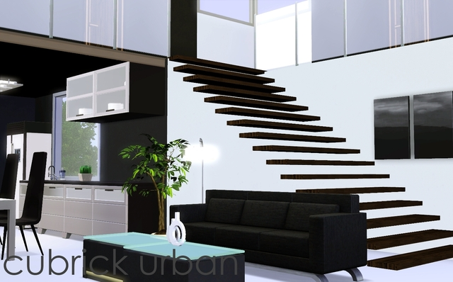Stairs To Minimalism  by Cubrick Urban