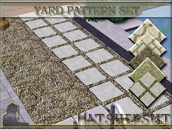Yard Pattern Set by Hatshepsut