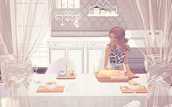 Toska Dining Set by Camille