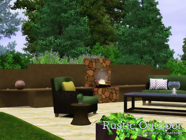 Rustic Outdoor by Angela