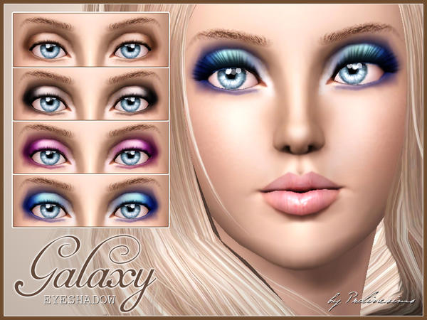 Galaxy Eyeshadow by Pralinesims