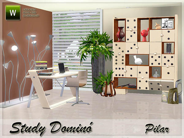 Study Domino by Pilar