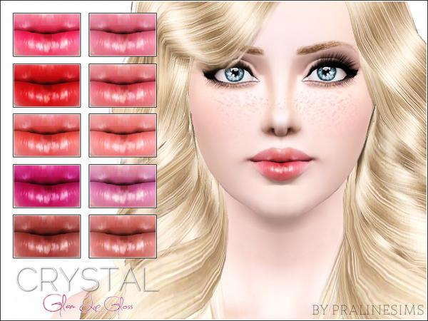 Crystal Glam Lip Gloss by Pralinesims