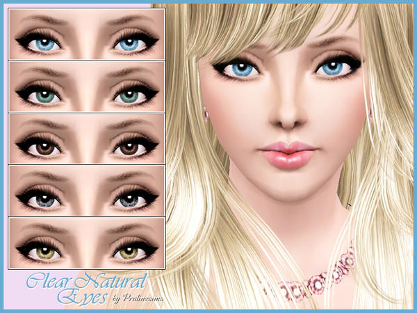 Clear Natural Eyes by Pralinesims