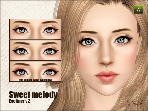 Sweet melody eyeliner v2 by Gosik