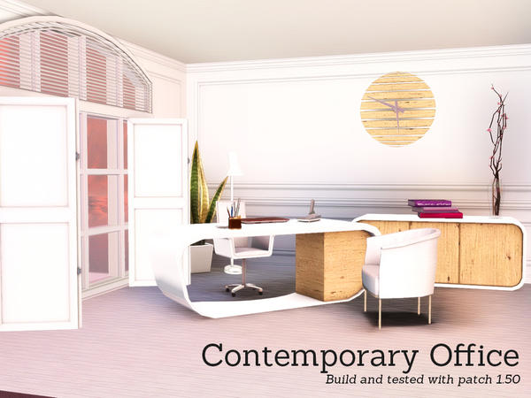 Contemporary Office by Angela