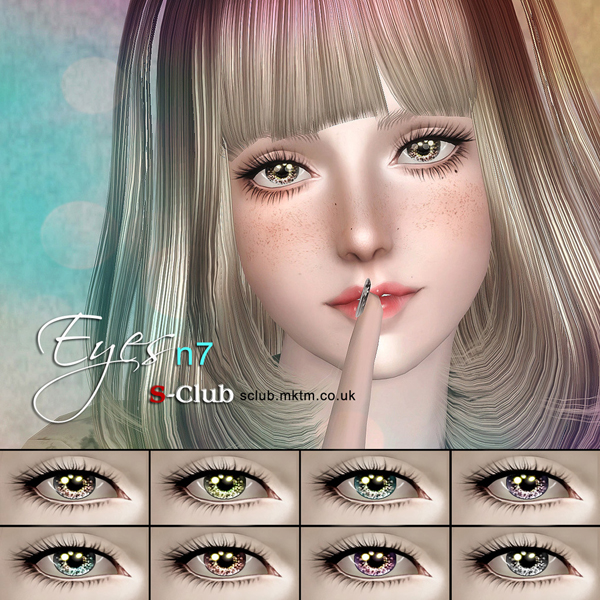 Eyes N7 by S-Club