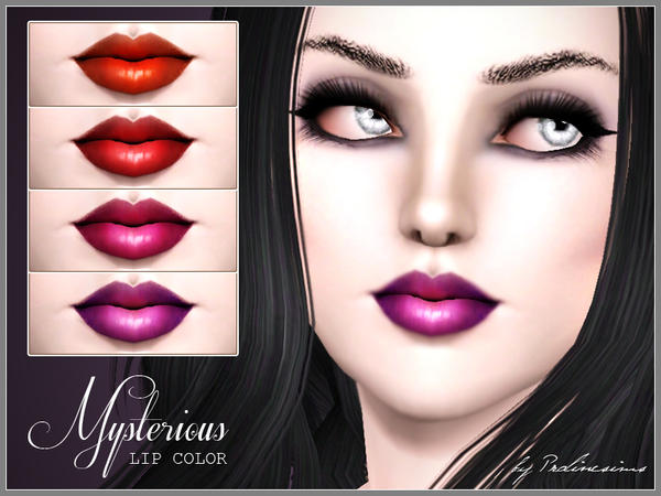 Mysterious Lip Color by Pralinesims