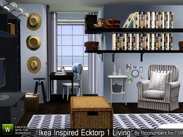 Ikea Inspired Ecktorp One Living by riccinumbers