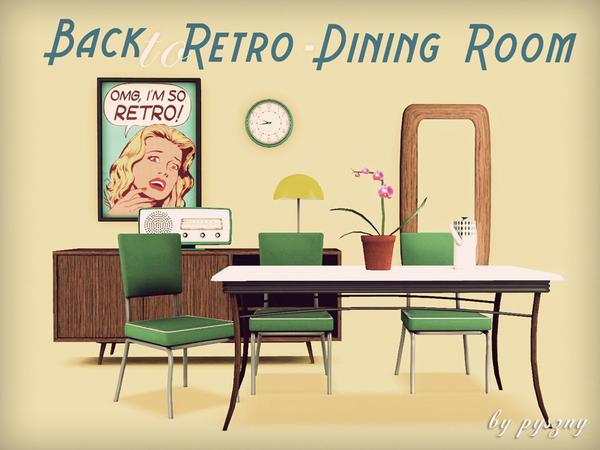 Back To Retro - Dining Room by pyszny16