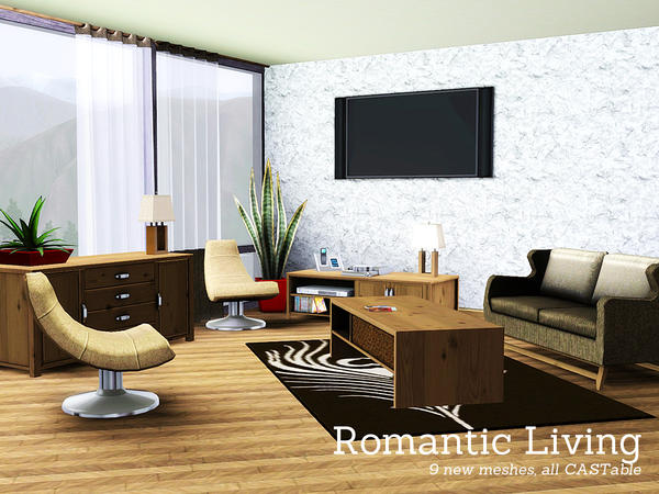Romantic Living by Angela