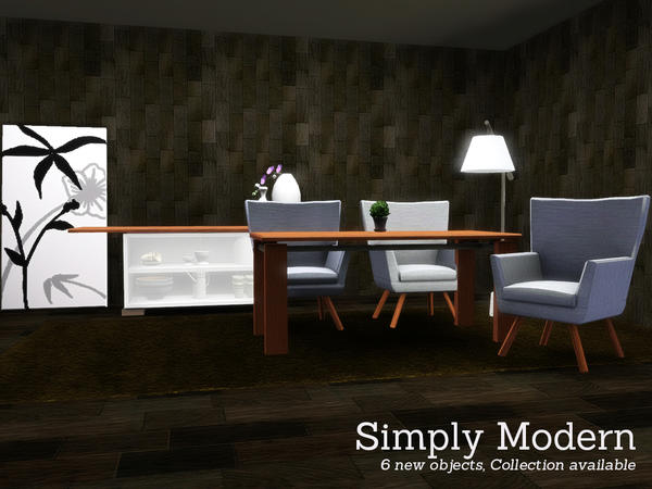 Simply Modern Dining by Angela