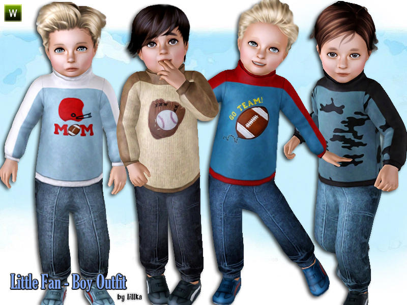 Little Fan ~ Boy Outfit от lillka