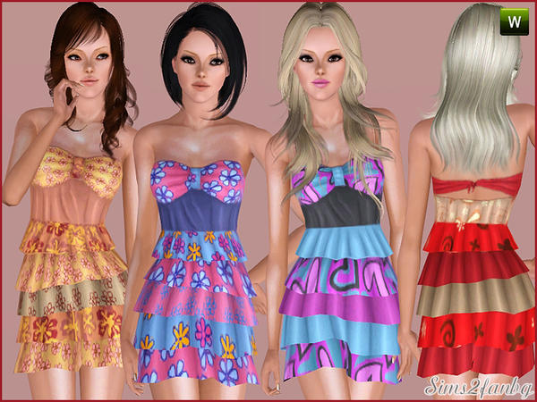 245 Dress by sims2fanbg
