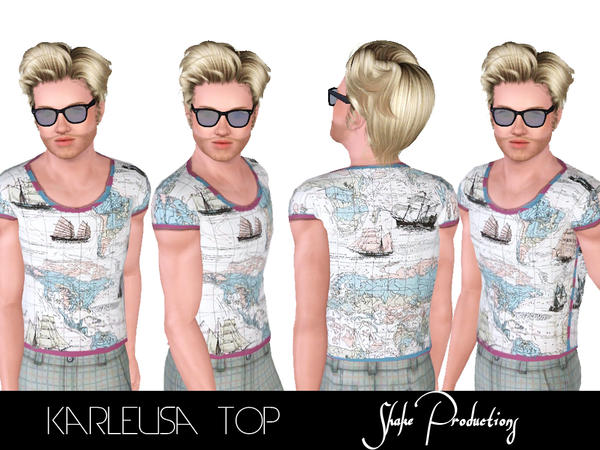 Karleusa Top by ShakeProductions