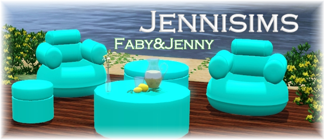 Inflatable Outdoor Set by JenniSims