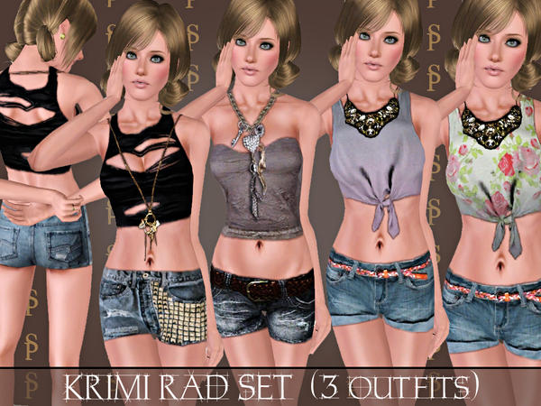 Krimi Rad SET (with necklaces) by ShakeProductions