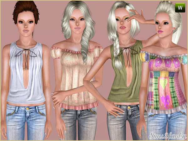 246 Summer set by sims2fanbg