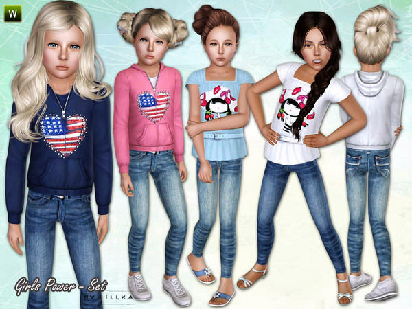 Girls Power ~ Set by lillka
