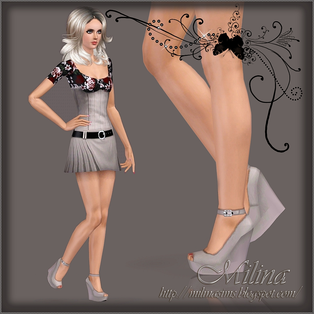 Two pairs of shoes by Milina
