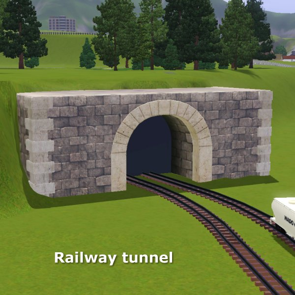 Railway tunnel for CAW by CFP