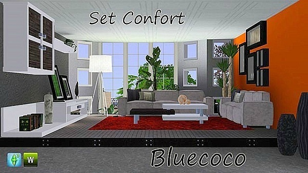 Set Confort by Bluecoco