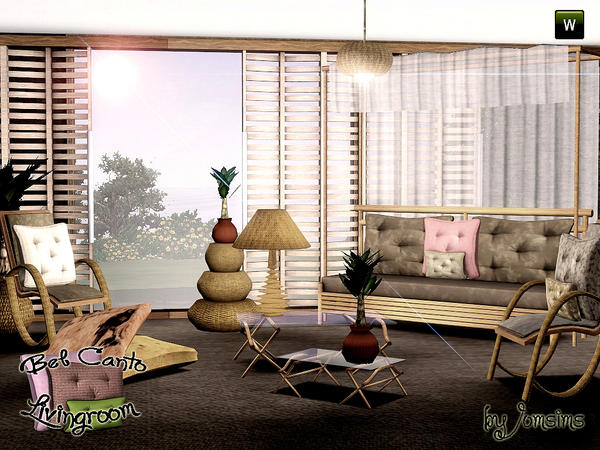 livingroom bel canto ( collection bel canto suite) by jomsims