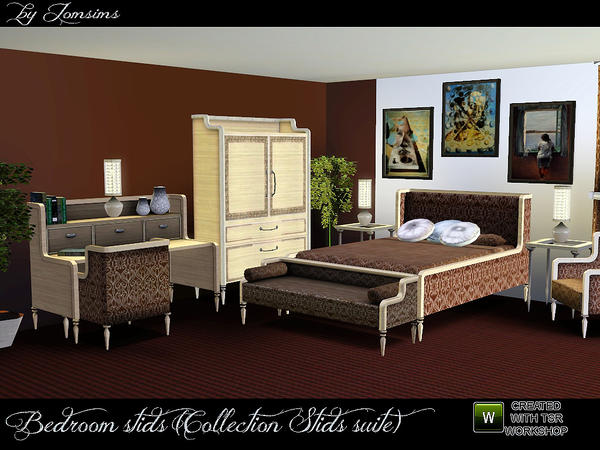 bedroom stids (collection stids suite) by jomsims