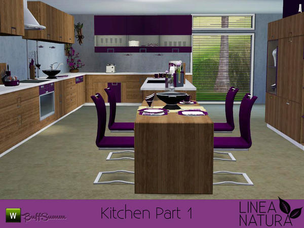 LINEA NATURA Kitchen Pt. 1 by BuffSumm