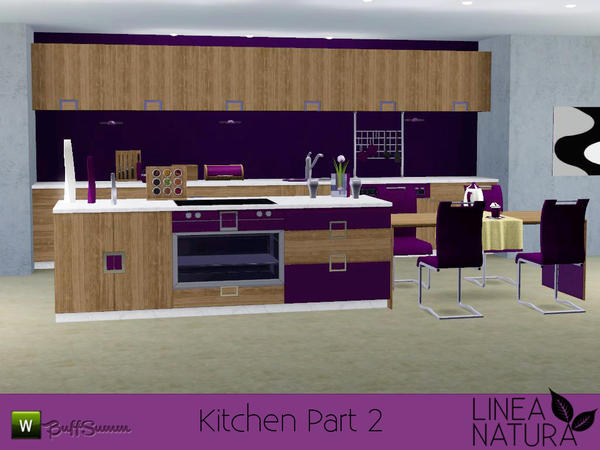 LINEA NATURA Kitchen Pt. 2 by BuffSumm