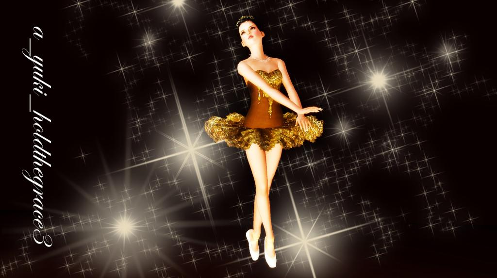 Hold The Grace (Ballet) Pose Set Special Gift by Yuki