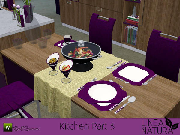 LINEA NATURA Kitchen Pt. 3 by BuffSumm