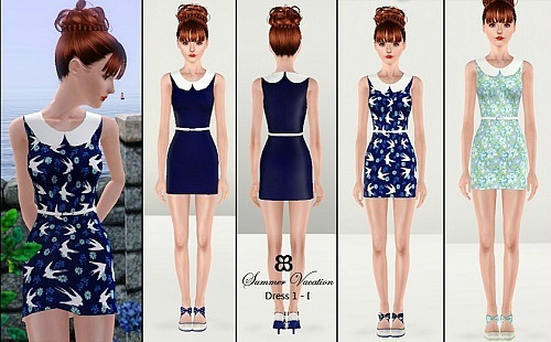 Summer Vacation Dress(recolor) by Breyete